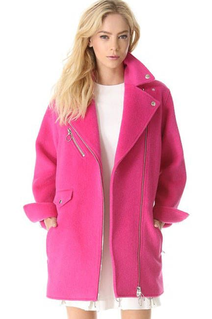 Moschino Cheap and Chic Wool Coat, $1,750; shopbop.com