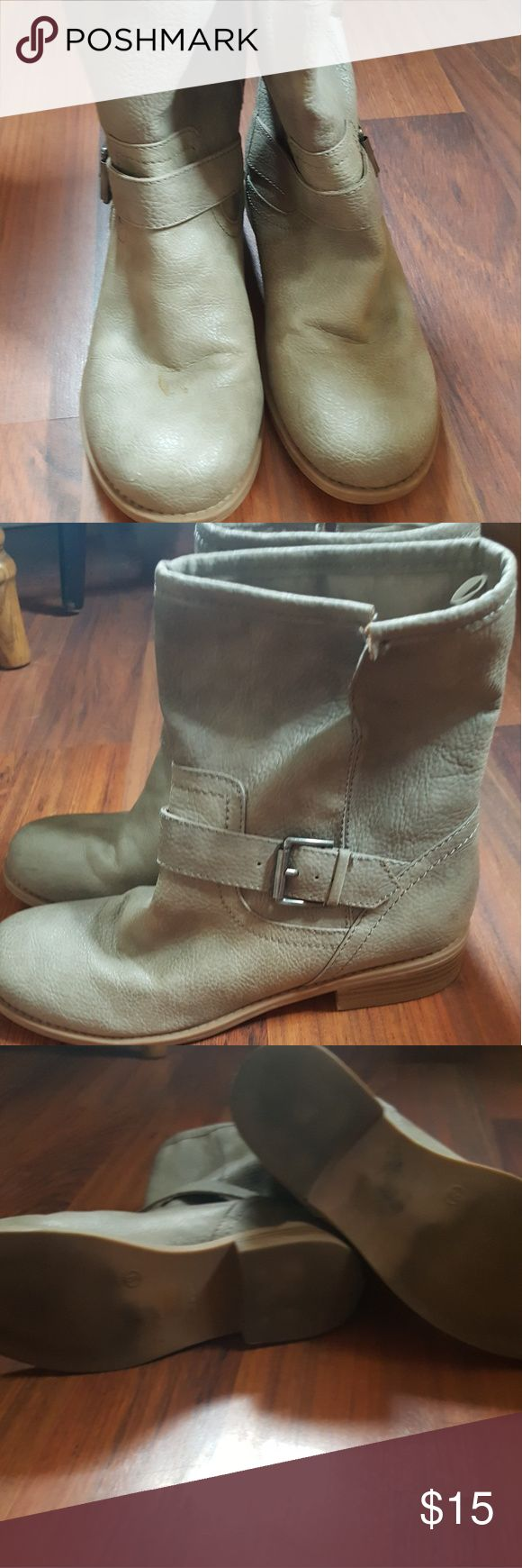 Old Navy Moto boots Worn only a handful of times great Old Navy moto boots Old Navy Shoes Combat & Moto Boots
