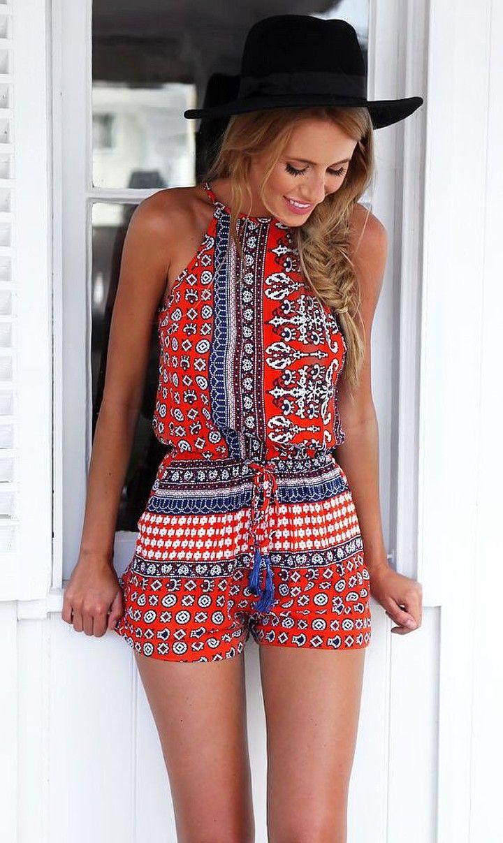 Romper free sewing pattern