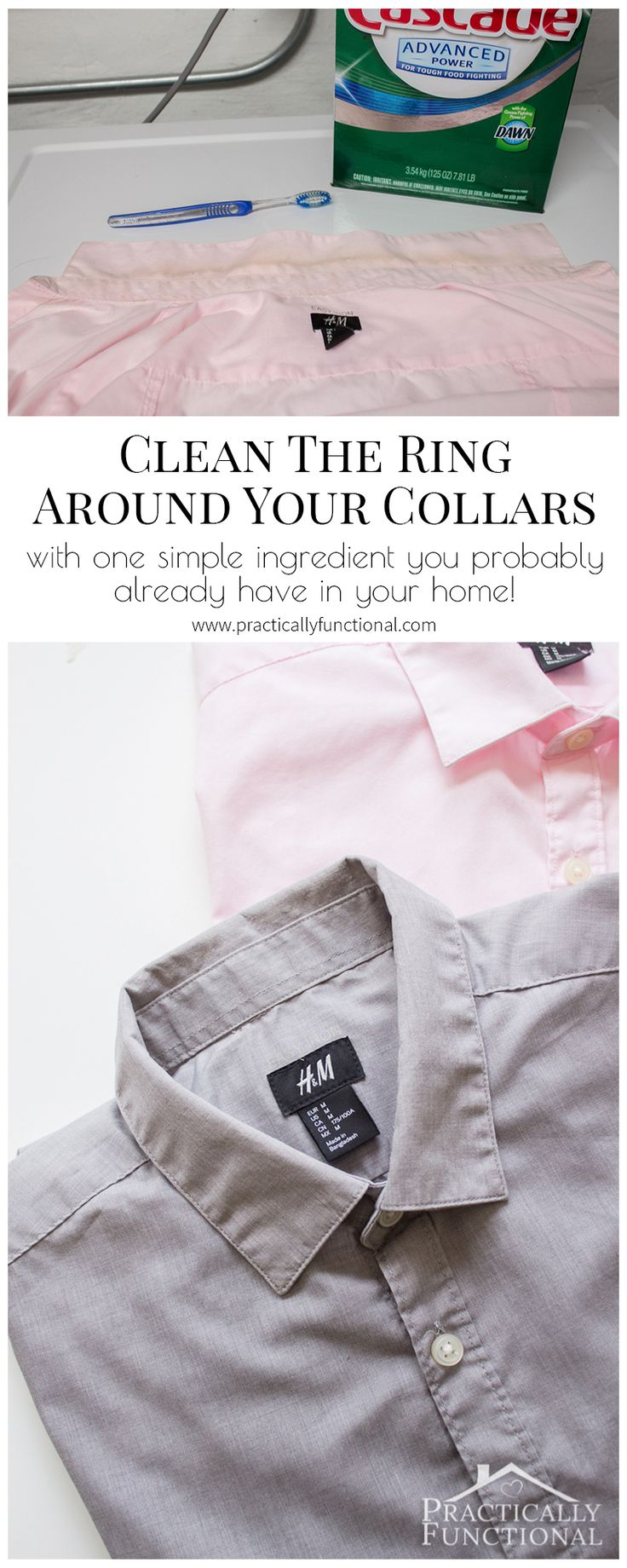 This shows you how to clean the ring around the collar of your dress shirts!