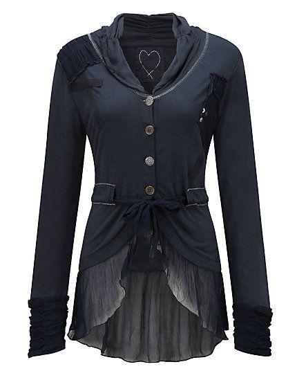 buy joe browns jacket indigo blue in the heine online shop joe