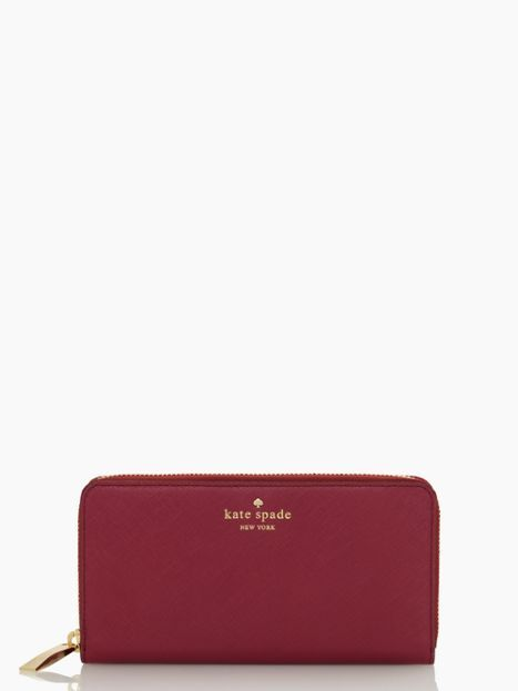 Kate spade - cherry lane lacey (love this wallet but I want it in the new mulled wine color)