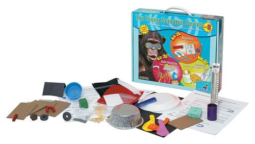 The Young Scientists Club - Set 9 - Magnetism, Static Electricity and Tornadoes, Clouds and Water Cycle Kits, Multi