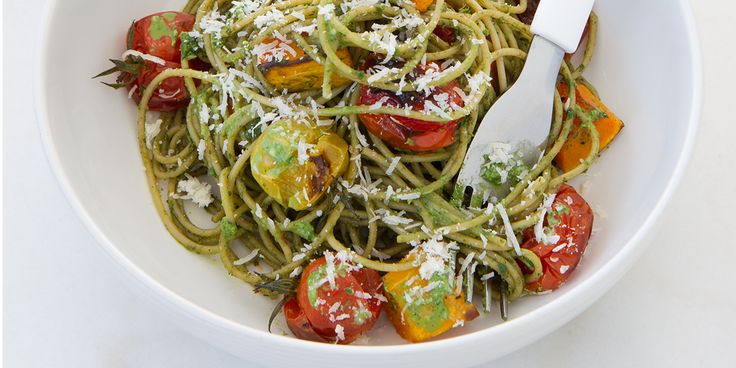 12WBT Basil & Walnut Pesto Spaghetti