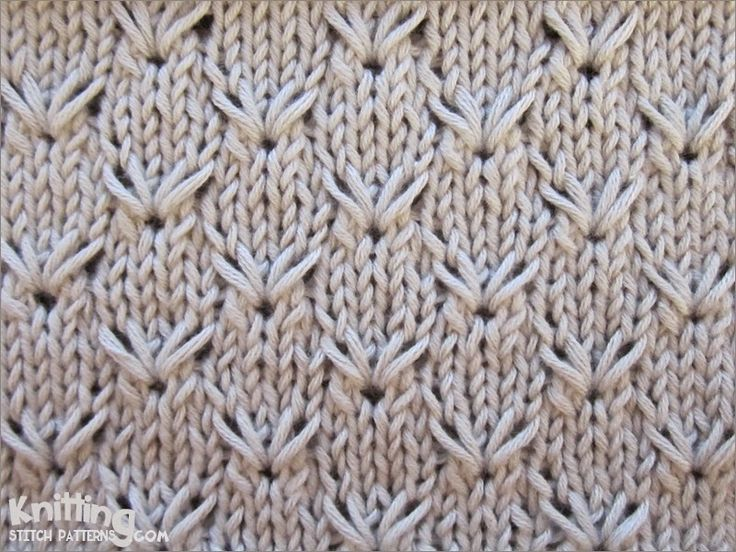 1000+ images about Knitting - Stitch Patterns on Pinterest Ribs, Knit patte...