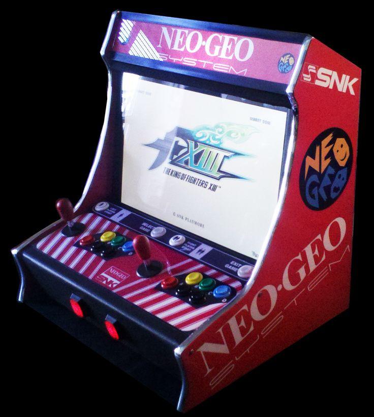 "Neo Queens Arcade: Bartop 2.0 Lcd 22"", 2 Players, Motivo Neo Geo"