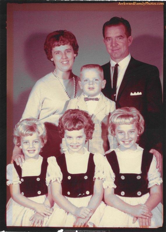 Fernande et Fernand ..les voisins du dessous .. Leurs trois filles voulaient toujours jouer au dentiste avec moi....elles me faisaient mal !  !!