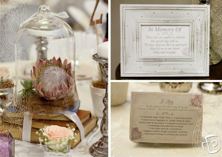 Protea Themed Wedding