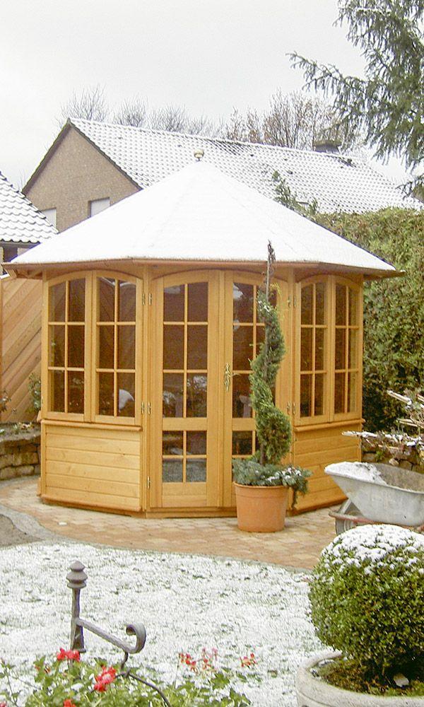 Pavillon Aus Fichtenholz Gartenhaus Haus Gartenhaus Bauen