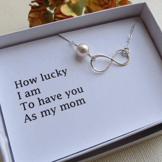 Mother's Infinity Bracelet Card Set Thank You Mom by lizix26, $30.00