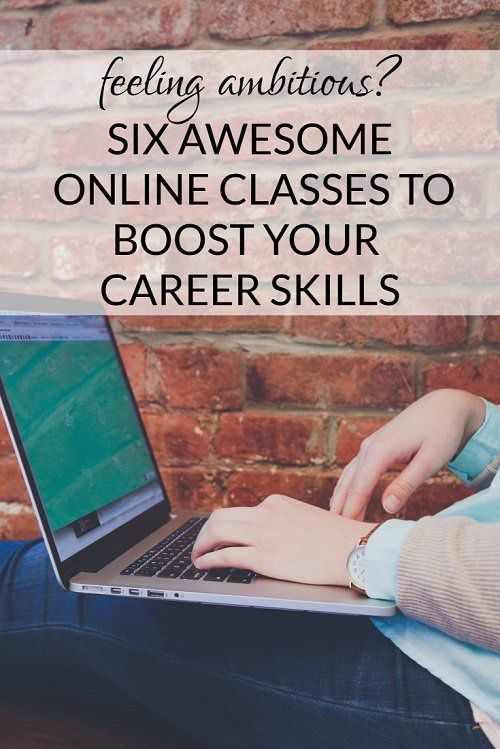 Great roundup if you're looking to level up some of your skills for work: 6 Awesome Online Classes for Working Women http://corporette.com/online-classes-for-working-women/?utm_campaign=coschedule&utm_source=pinterest&utm_medium=Corporette%C2%AE&utm_content=6%20Awesome%20Online%20Classes%20for%20Working%20Women