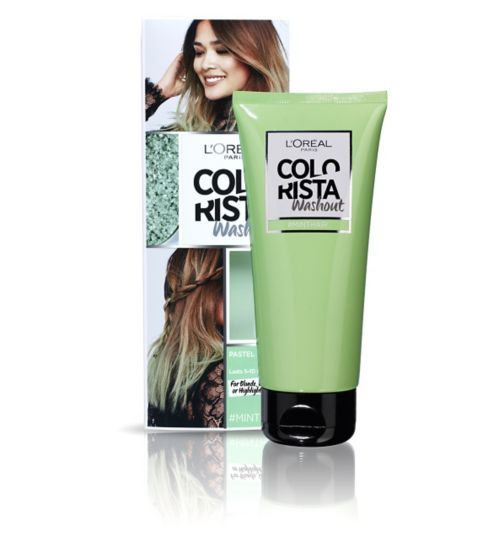 Hair Colour || Colorista Washout- Mint Hair (for blonde, ombre or highlights)