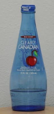 Clearly Canadian!!! Does anybody else remember this stuff??? I LOVED the Black Cherry flavor. Gotta love great memories. :)