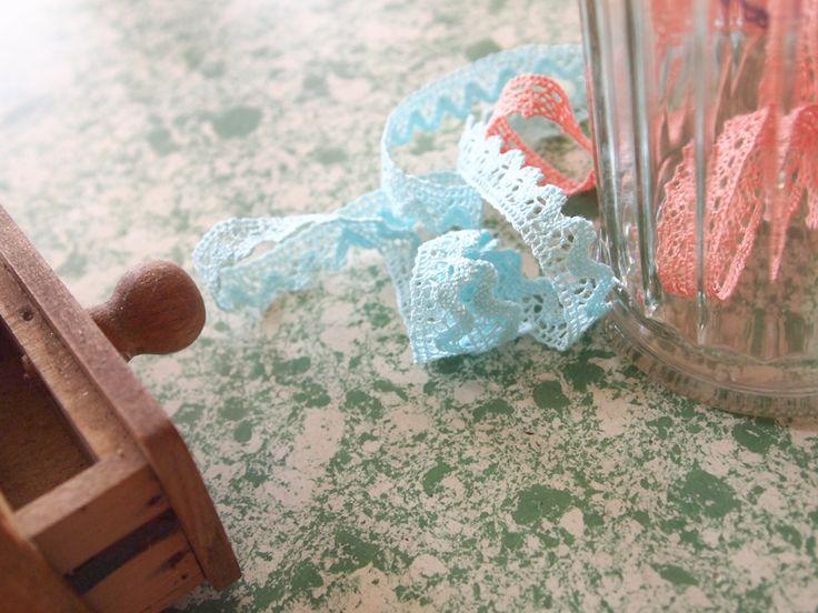 Nouveaux coloris de dentelles Frou-Frou
