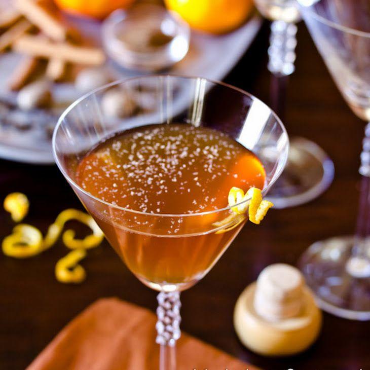 Spiced Manhattan Cocktail | Parfait Amour | Pinterest