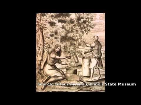 L'habillement chez les Iroquoiens vers 1500 - Vidéo YouTube fait par le RÉCIT Univers social
