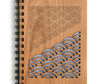 Desert Garden Botanical Lasercut Wood Journal | Etsy