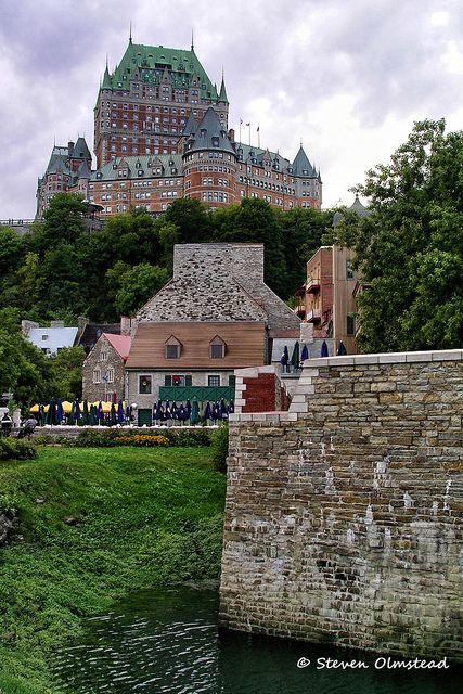 Chateau Frontenac - Quebec, Canada