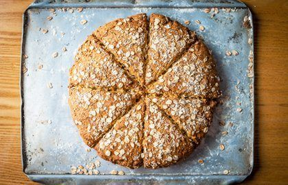 Gluten-Free Soda Bread Recipe - Chef Russel Brown