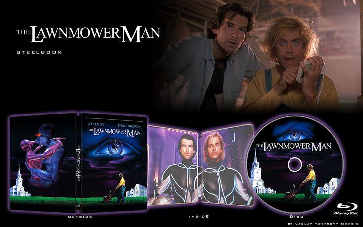 THE LAWNMOWER MAN - STEELBOOK -  Fan art