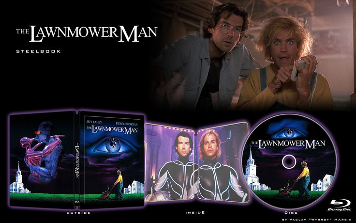 THE LAWNMOWER MAN - STEELBOOK -  Fan art