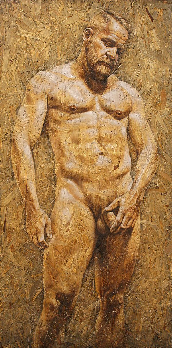 Chris erotic art muscle black