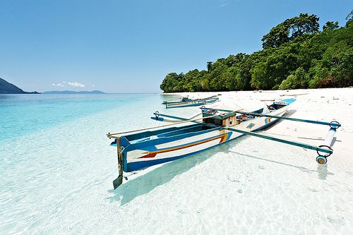 Molana Island, Maluku, Indonesia.