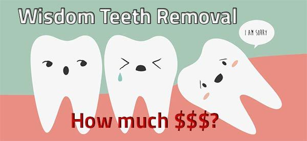 Wisdom Teeth Removal Cost and Information