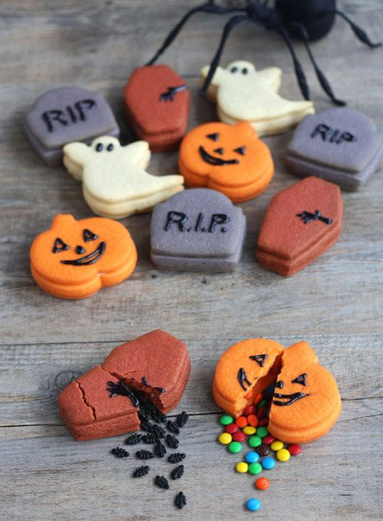 Better Than a Piñata: Halloween Trick-or-Treat Cookies