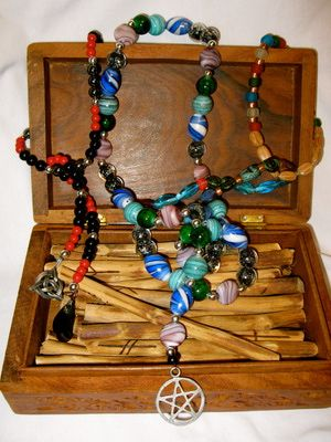 In many magical traditions and religious paths, the use of beads can be a meditative and magical exercise. Why not assemble a set of beads that holds meaning to you, and use it in your ritual practice and workings?: Other Ideas for Prayer Beads
