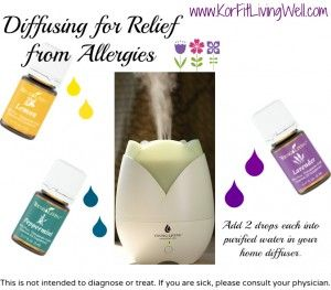 Diffusing Essential Oils for Allergy Relief