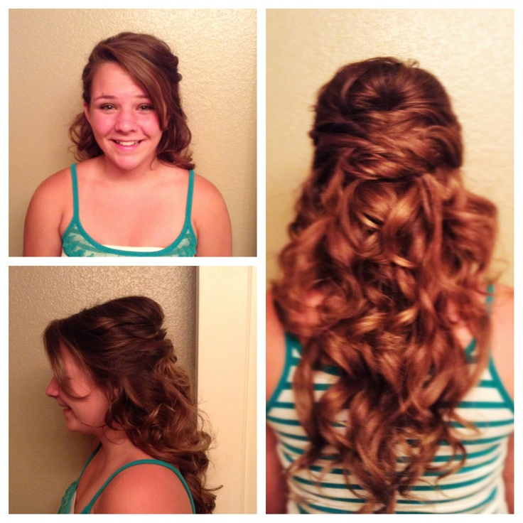 Simple hairstyles for 8th grade graduation