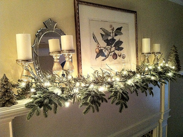 Mantel Decorating !