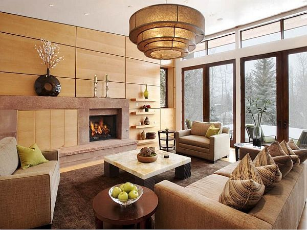 Aspen property living room