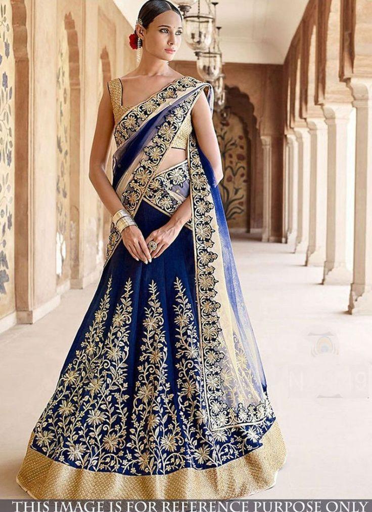 Banarasi Silk Lehenga Online Shopping