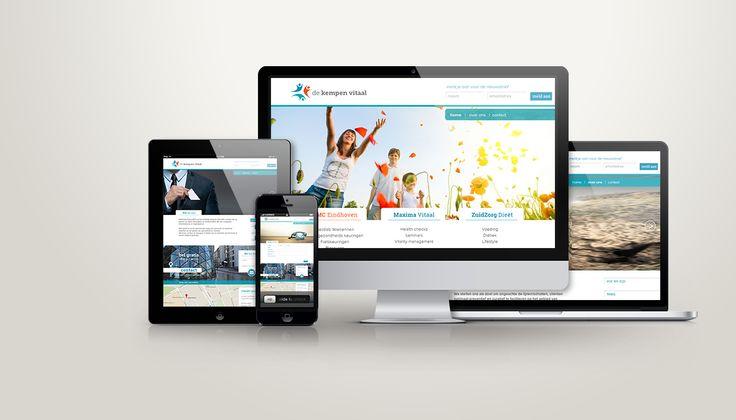 DeKempenVitaal (DKV) wil het landelijk medisch referentie centrum zijn op gebied van Sport, Revalidatie en Vitaliteit (SRV). Zij spelen in op de toenemende vraag voor preventie en medische expertise op het gebied van gezondheid en vitaliteit. En Gloed ontwierp het logo en, i.s.m. iCreat en Dubbel9, de website. Fotografie: Marieke Visuals. Logo en website ontwerp.(Designed by Gloed)