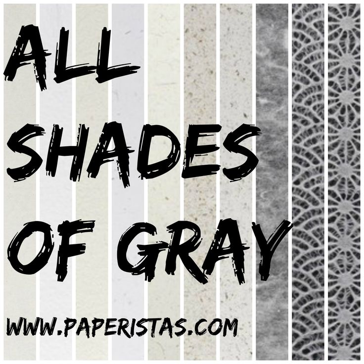 Need gray papers for your accents and events? Or grays for your crafts and paper projects? Here's a collection of hand picked gray papers, check it out at http://www.paperistas.com/grays/