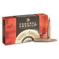 Federal Premium, Vital-Shok Nosler Partition, .338 Winchester Magnum, NP, 210 Grain, 20 Rounds:… #militarysurplus #ammo #outdoor #hunting