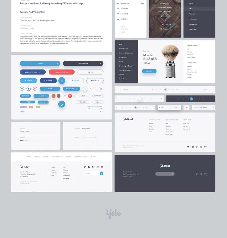 UI8 — Products — Kauf UI Web Kit