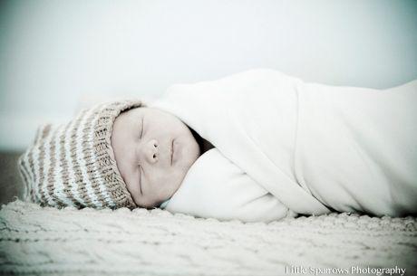 Santa Barbara New Born Shoot: Baby Henry's so calm and serene.