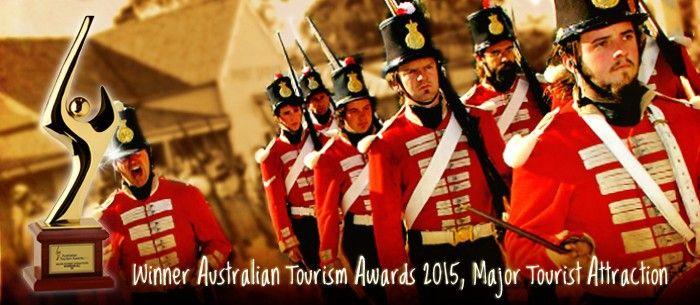 Sovereign Hill 2015 Tourism Awards Winner