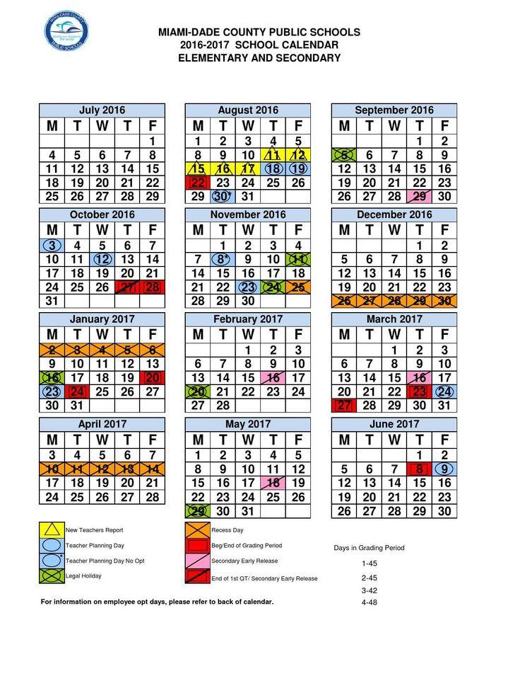 ClippedOnIssuu from MDC School Calendar 2016-17 Goals Board - school calendar