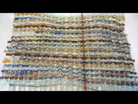 Woven Art Glass Platters - YouTube