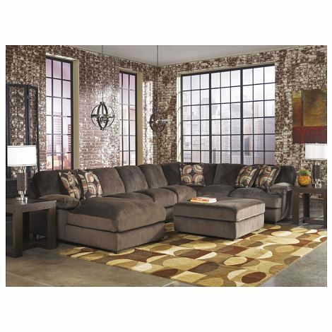 Sofa Sleeper  Pc Truscotti Ii Collection Cafe Rich Soft Fabric Upholstered Sectional Sofa With Chaise And Overstuffed