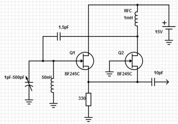 Help with ultra wideband oscillator circuit