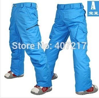 73.60$  Buy now - http://alit8z.worldwells.pw/go.php?t=2051790180 - 2014 mens blue ski pants coffee snowboarding pants for men green sports snow pants black waterproof 10K windproof free ship