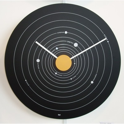 Cool Office Clocks. Cool Outer Space Wall Clock Office Clocks D