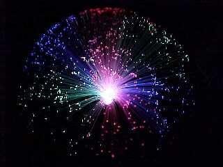 Fibre optic fluro.