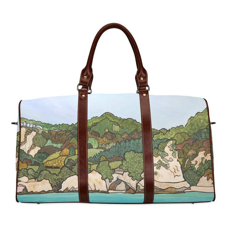 Cathedral Cove Waterproof Travel Bag/Small (Model 1639)