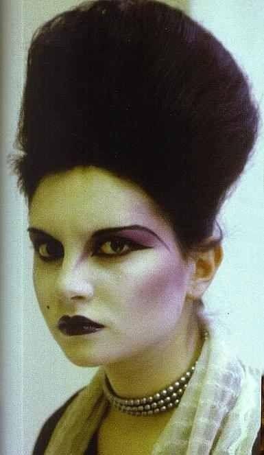 Princess Julia, from the London club scene, 1980. Original Club Kids